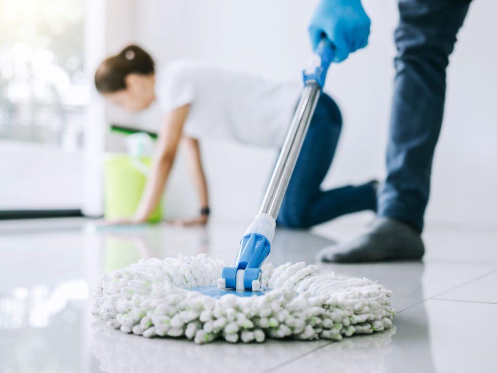 floor moping