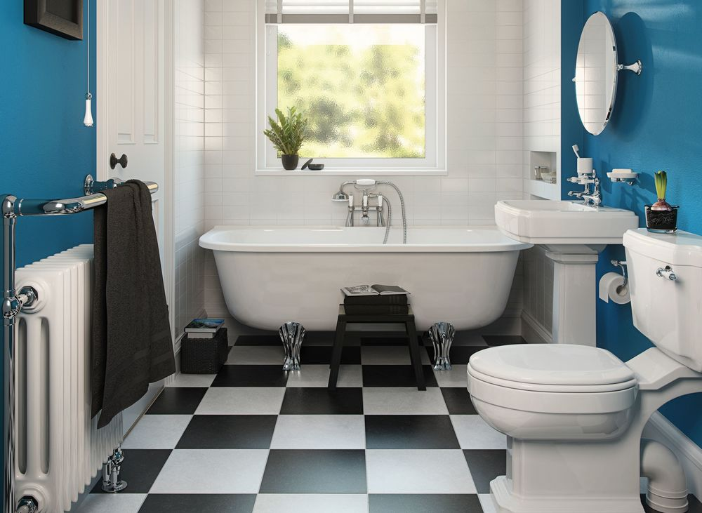 bathroom cleaning as a part of post-construction cleaning checklist